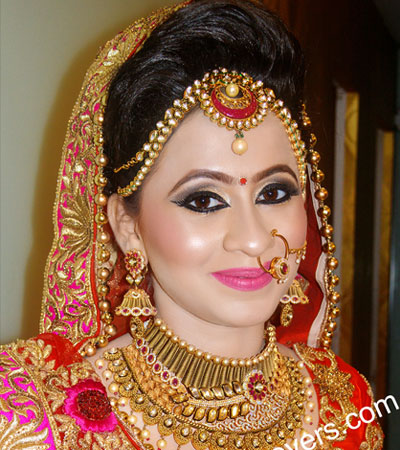 best bridal makeup in Delhi